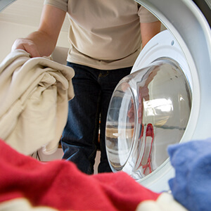 View From Inside Washing Machine