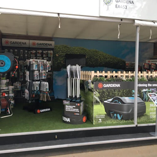 GARDENA Stand At Chelsea Flower Show