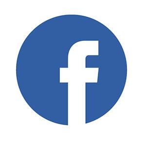 Facebook Symbol In Circle