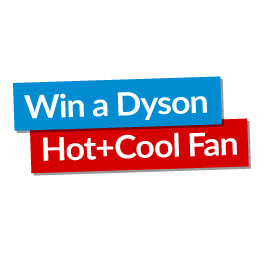 Win a Dyson Hot and Cool Fan!