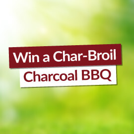 Win a Char-Broil Charcoal BBQ! [Competition Closed]