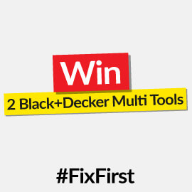 Win a Black+Decker Multi Tool for you and a fellow DIY'er! [Competition Closed]