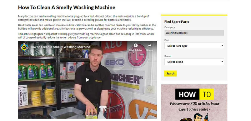 Screen Shot Of Washing Machine Fix