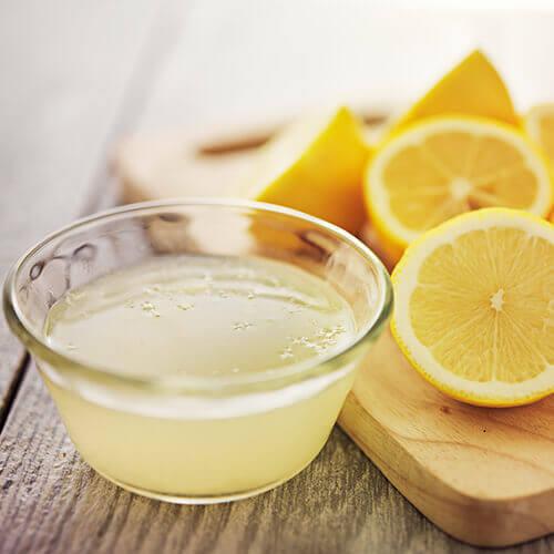Squeezed Lemons In Pot