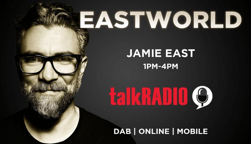 Image Of Talkradio With Jamie East