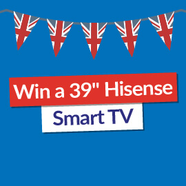 Win a 39″ Hisense Smart TV! [Competition Closed]