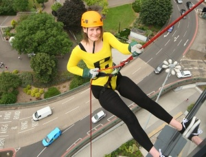 El Abseiling For John Tayors