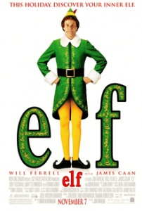 Elf Movie Film Poster