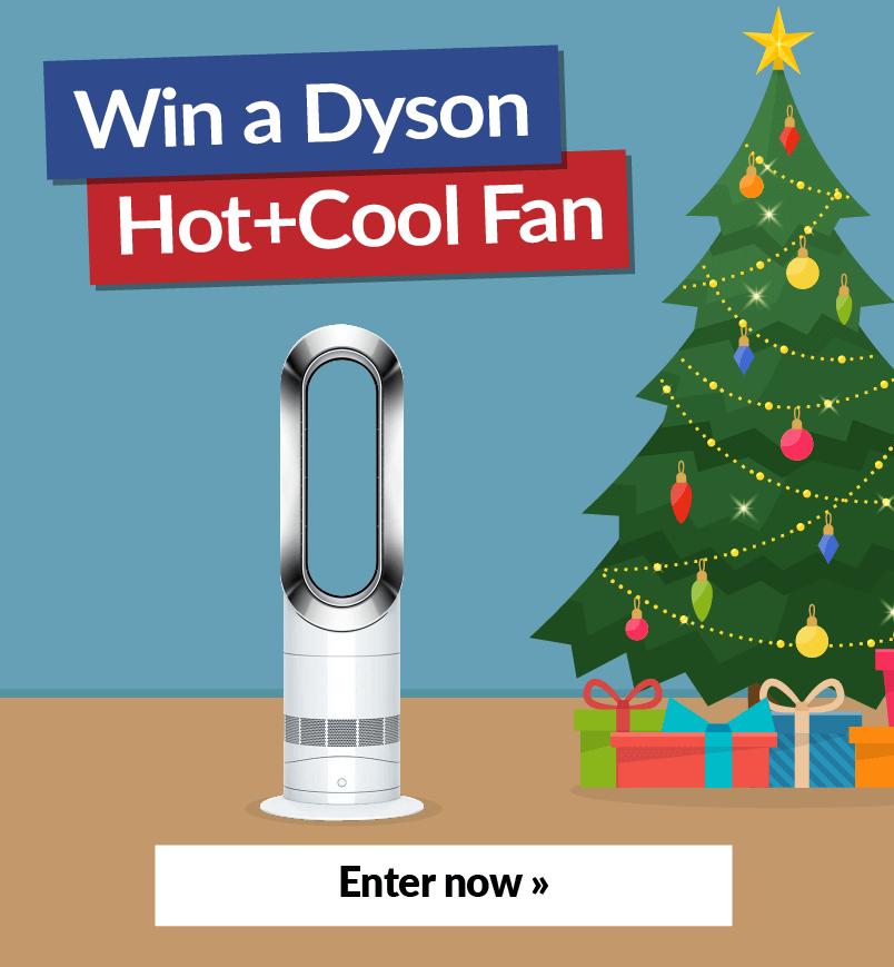 Win a Dyson Hot+Cool Fan