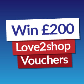 Win a £200 Love2shop Voucher! [Competition Closed]
