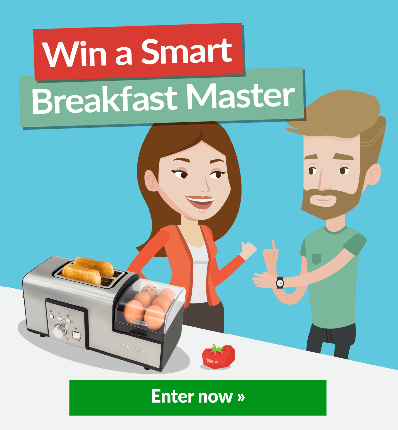 Smart Breakfast Master Animation With Win Banner