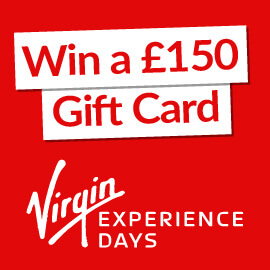 Win £150 to spend on Virgin Experience Days!