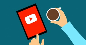graphic YouTube and coffee