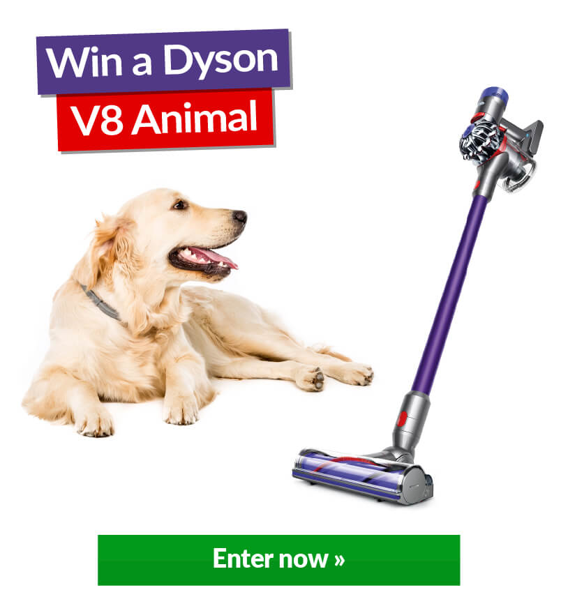 Image of Dyson With Win Banner