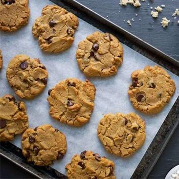 Peanut Butter Cookies From Recipe