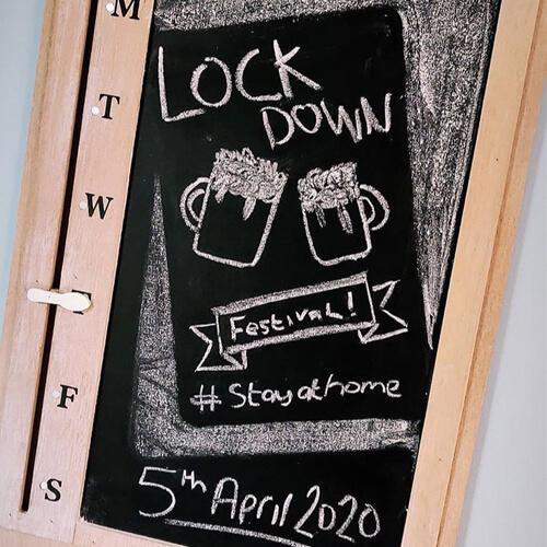 Lockdown Festival Signage