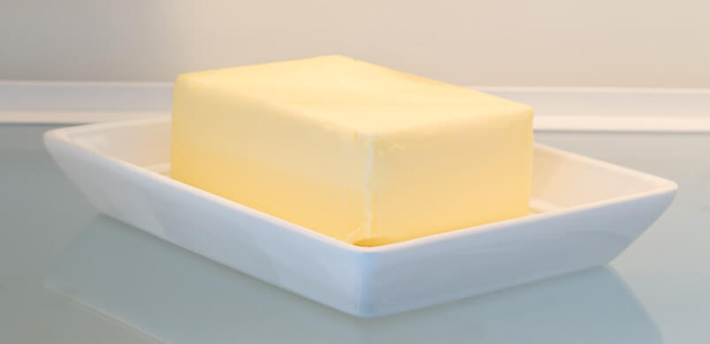 Butter In A Dish