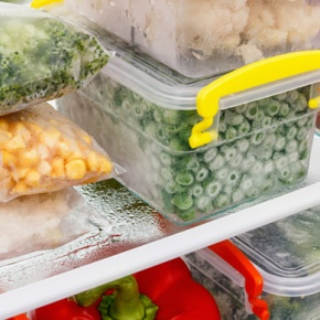 Frozen Foods In Containers