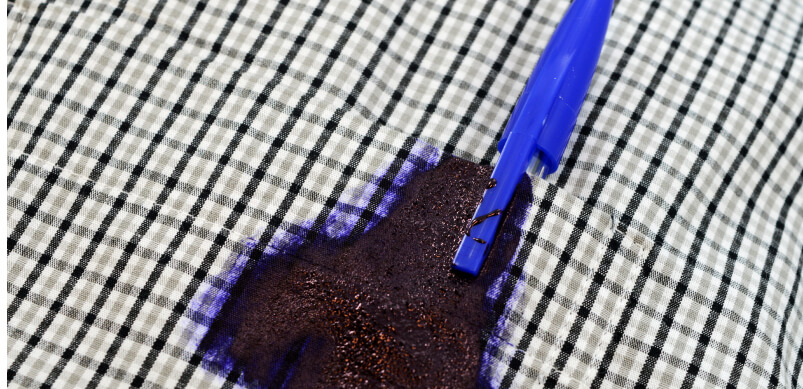 Ink Pen Leaked In Shirt Pocket