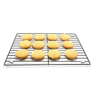 Metal Cooling Rack With Cakes