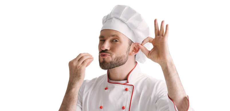 Man With Chef Outfit