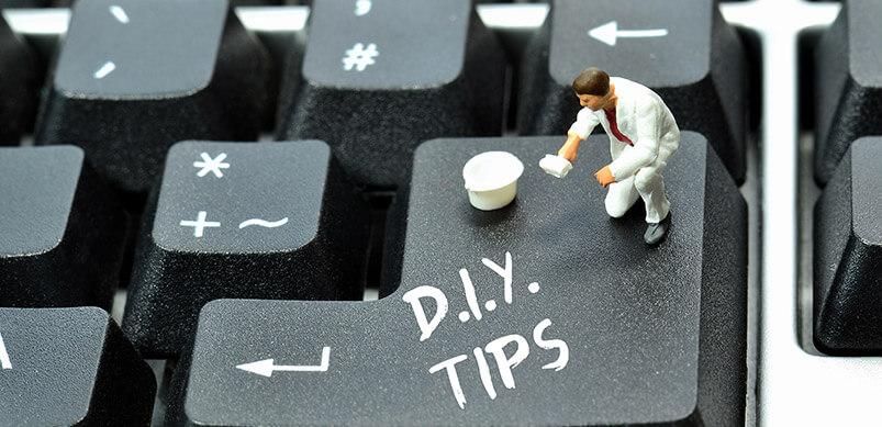 Computer Keyboard With DIY Tips