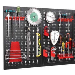 Pegboard With DIY Tools
