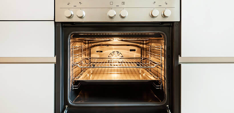 Open And Clean Oven