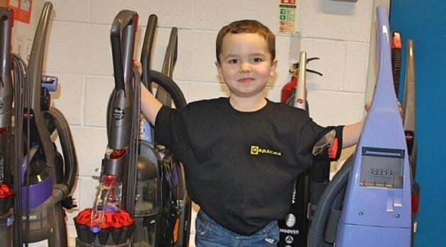 Jacob At The Espares HQ