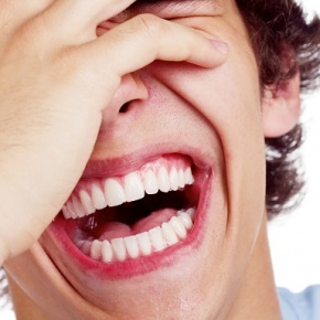 Close Up Of Man Laughing