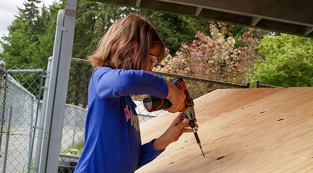 Hailey Making Homeless Shelters