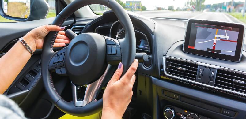 Gadgets Inside Car