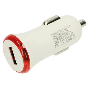 Close Up Of Car Charger