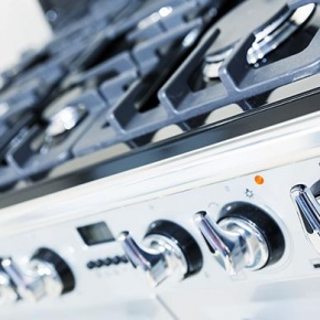 Close Up Of Cooker Hob