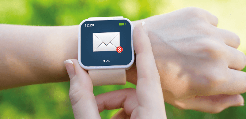 Email Notification On Smartwatch