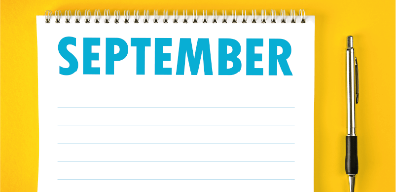 Blank September On Calendar