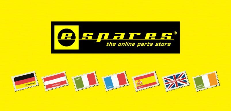Espares Logo And Flags