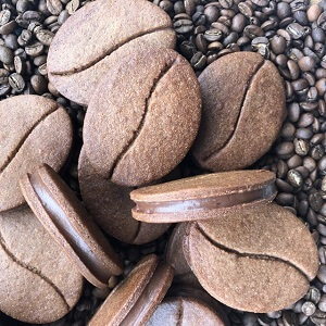 Coffee Bean Biscuits