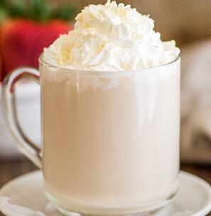 Homemade White Chocolate Mocha