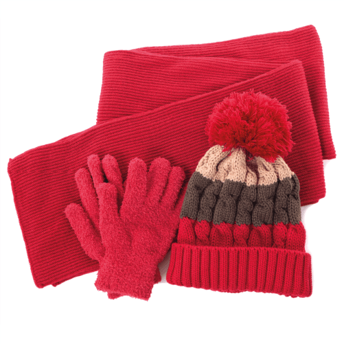 Glove, Hat And Scarf