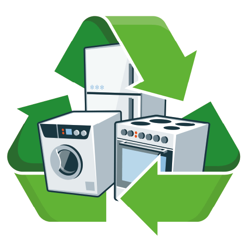 Appliances With Recycling Symbol