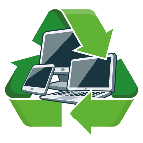 Gadgets With Recycling Symbol