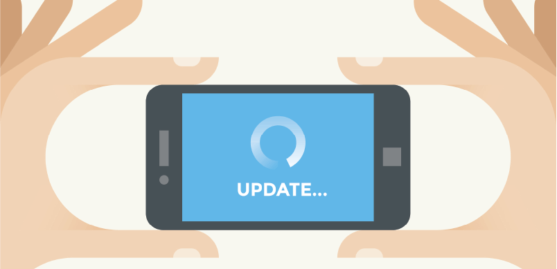 Update On Mobile Phone