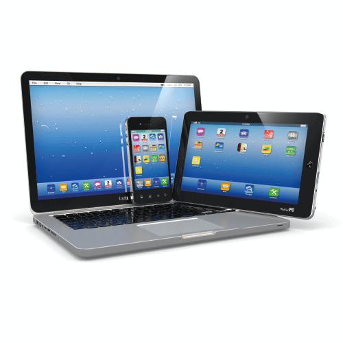 Laptops And Smart Phones