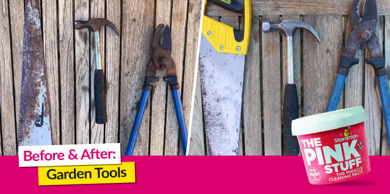 Before And After Garden Tools
