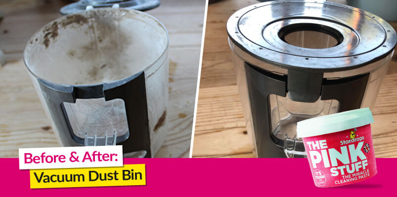 Before And After Vacuum Dust Bin