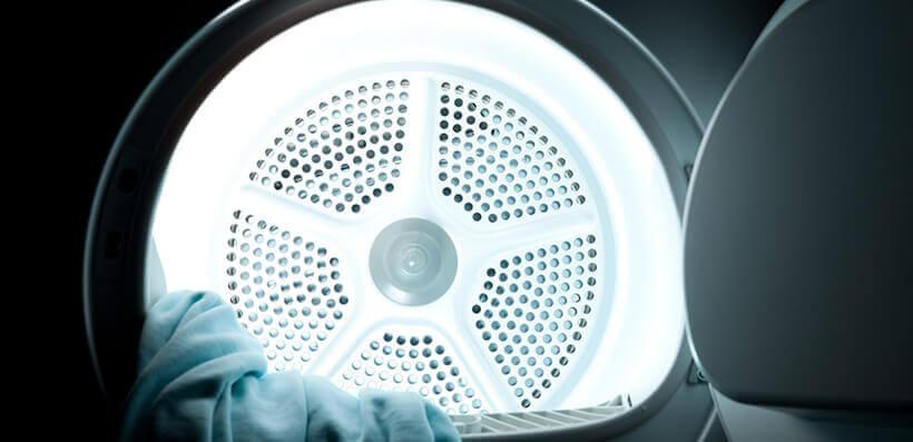 Darkness Inside Tumble Dryer
