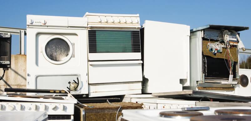 Appliances In Landfill