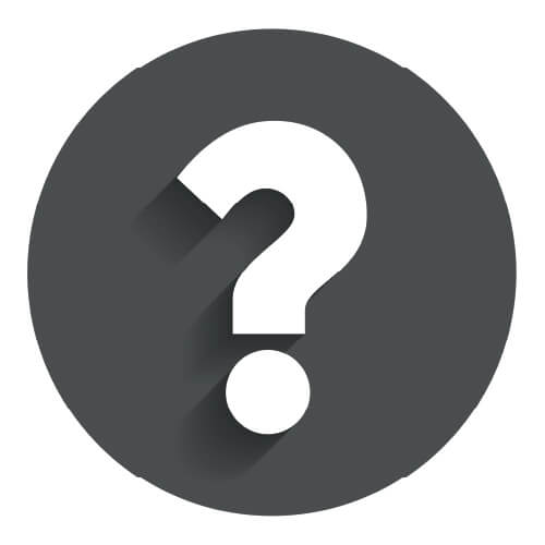 Question Mark In Grey Circle