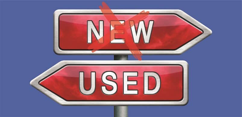 New And Used Sign Posts